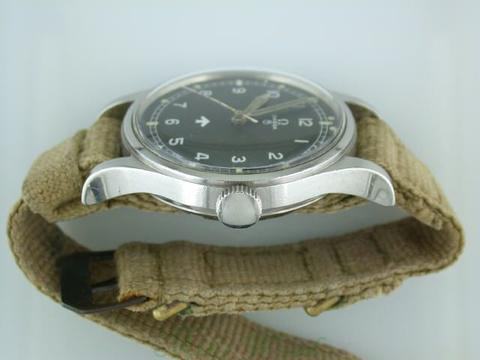 Omega 53 with NATO canvas strap: NATO Watch Strap History