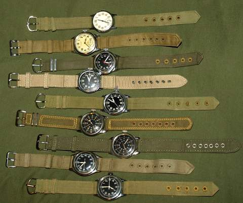 WWII canvas straps