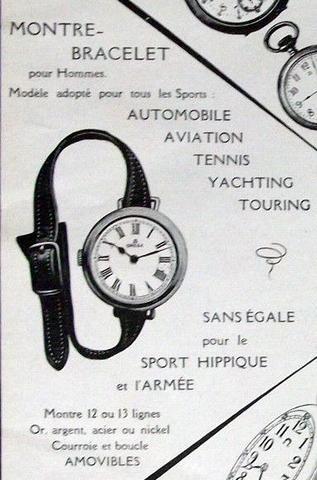 omega 1911: NATO Watch Strap History