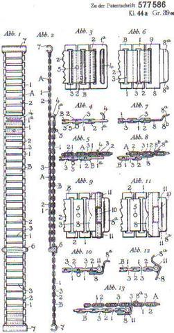 Howlitt patent bonklip