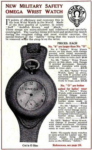 Omega boer: NATO Watch Strap History