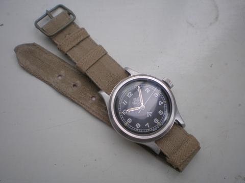 Smiths GS on Hygienique: NATO watch strap