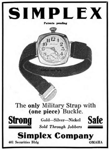 Simplex: NATO Watch Strap History