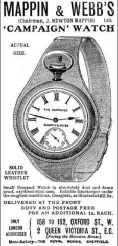 Mappin & Webb's: NATO Watch Strap History