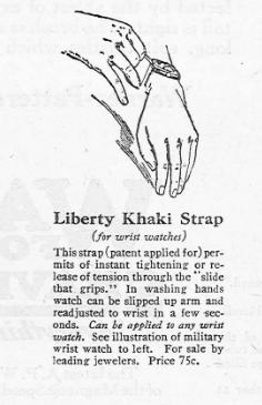 Liberty Khaki Strap: NATO Watch Strap History