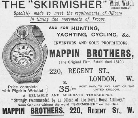 Mappin Garstin wristlet