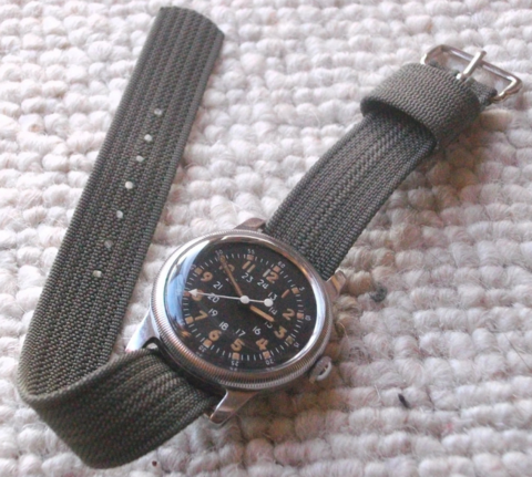 Waltham A17: NATO watch strap