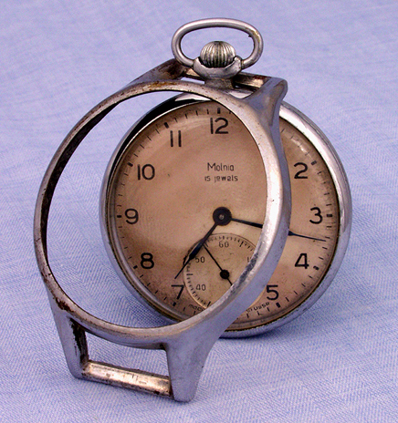 Metal pocket watch converter