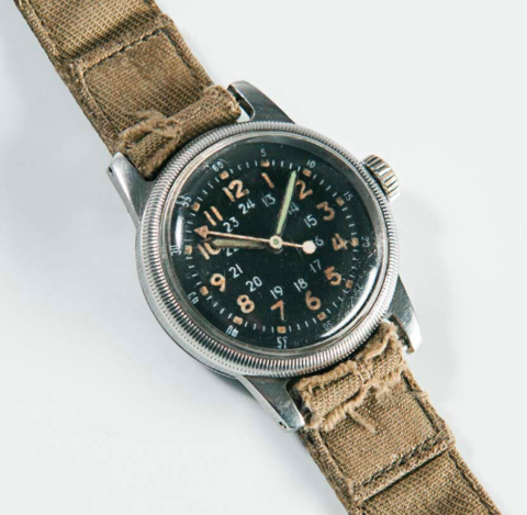 Waltham A-17: NATO watch strap