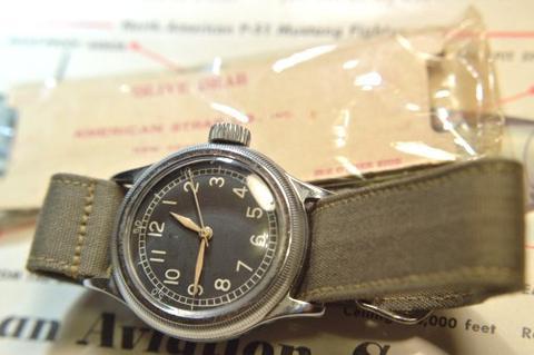 bulova a-11: NATO Watch Strap History