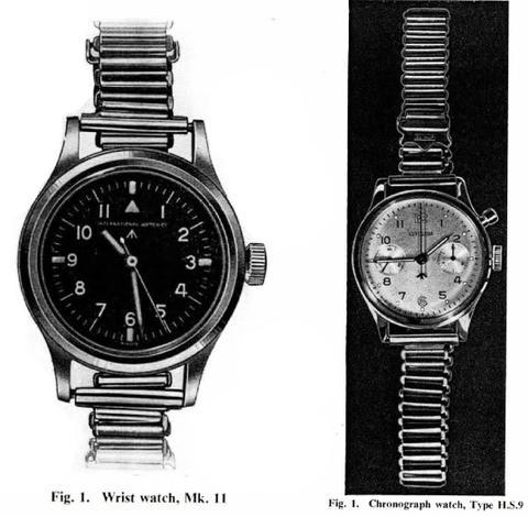 6B/346: NATO watch strap