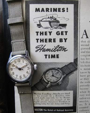 Hamilton 987s: NATO Watch Strap History