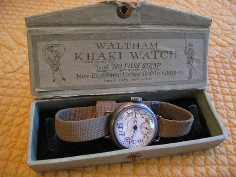 Depollier khaki: NATO Watch Strap History