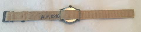 AF 0201 strap on ATP Revue 59 WW2: NATO Watch Strap History