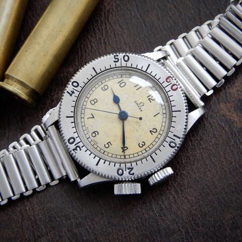 Omega Weems on a Bonklip: NATO Watch Strap History