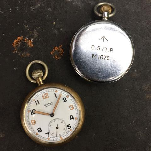Buren GS/TP: NATO Watch Strap History